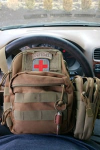 Messenger gun bag with additional morale patches Germantown, 20876