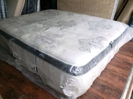 King mattress luxury plush. Extra thick. Delivery 40$