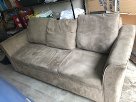 Sofa. Fair condition, clean. Pick up only. $50 OBO