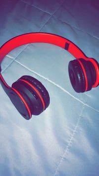 red and black wireless headphones Gulf Shores, 36542