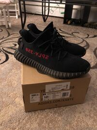 Adidas yeezy boost 350 V2 Bred CP9652 Sz 10.5 100% authentic Adidas Originals New London, 06320