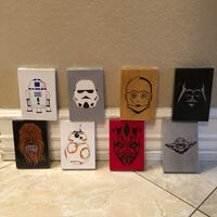 NEW!!! All 8 Star Wars Hand Painting Art Kissimmee, 34741