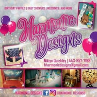 Party decorator Baltimore