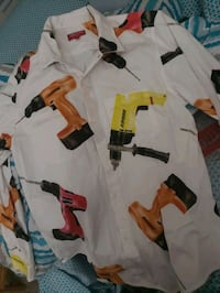 """Size M Vintage Supreme """"Drill"""" Button Down Owings Mills, 21117"""