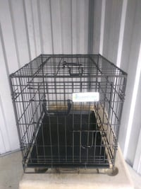 black metal folding dog crate Columbia, 21044