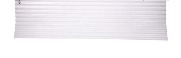 Tuftex SeaCoaster 2 17-ft x 8-ft Corrugated PVC Roof Panel