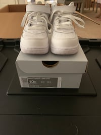 Air Force ones toddler size 10c