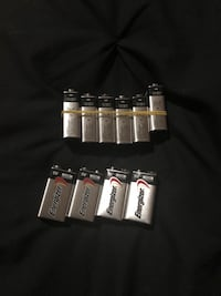 10 brand new Energizer 9 volt batteries Virginia Beach, 23453