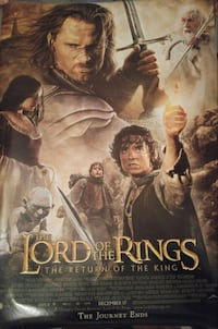 The Lord of the Rings poster Chilliwack, V2P 4E7
