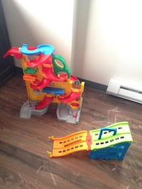 toddler's red and blue plastic toy Winnipeg, R3E 1W8