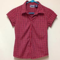 black and red button-up t-shirt Santa Rosa, 95403