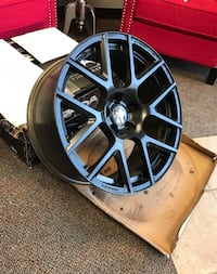 20x9 challenger wheels. They are like new I barely had them on the care I showed the car and put new rims on them these just say in storage  Springdale, 72762