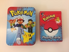 Pokémon Deck of Cards with Card Case