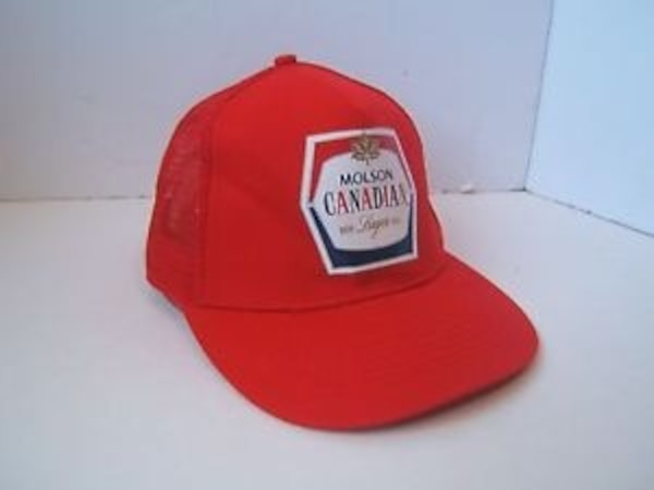 Molson Canadian fitted hat