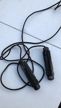 Nike leather cord professional jump rope