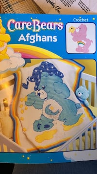 CareBears Afghans crochet box Pahrump, 89048
