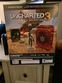 Uncharted 3 Drake's collection rare unopened Trinity, 34655