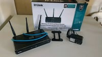 D-Link wireless N750 dual band router