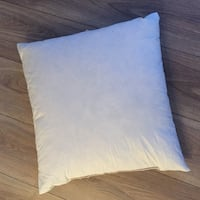 50x50cm  almost new duck down pillow x 2 Oslo, 1166