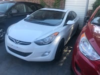 2012 Hyundai Elantra gls 1 owner no accident sunroof Toronto