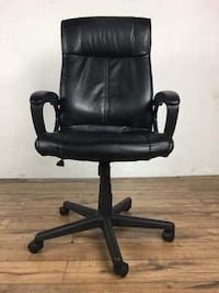 Contemporary Black Upholstered Office Chair (1014221) South San Francisco
