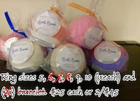 $25each or 2/$45 charmed aroma bath bombs Edmonton, T5R 4L8