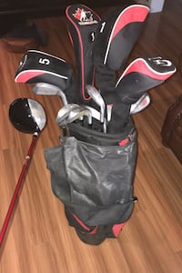 Golf Five drivers complete set putter comes with the bag very clean clubs