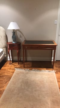 brown wooden table with chair Hampstead, H3X 4A6