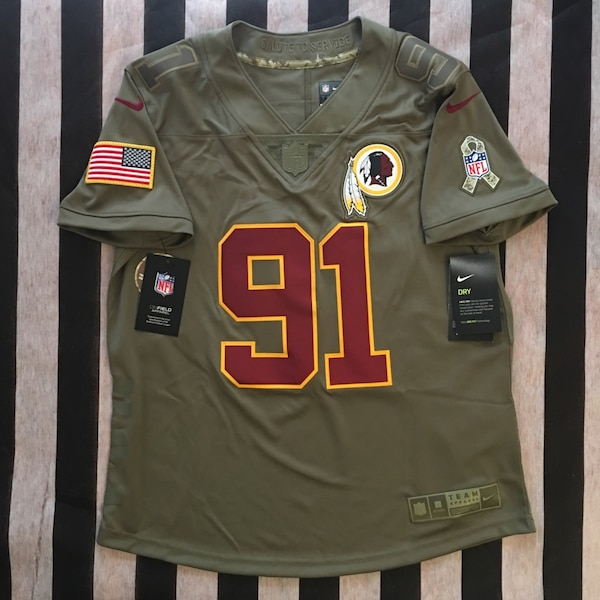 Redskins Salute to Service Kerrigan Jersey Womens