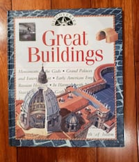"""NEW """"Great Buildings"""" Book by Discoveries  Toms River, 08753"""