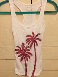 Inc sequined tank top. Size small.