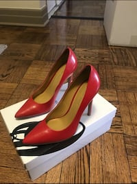 Red Nine West Pumps Toronto