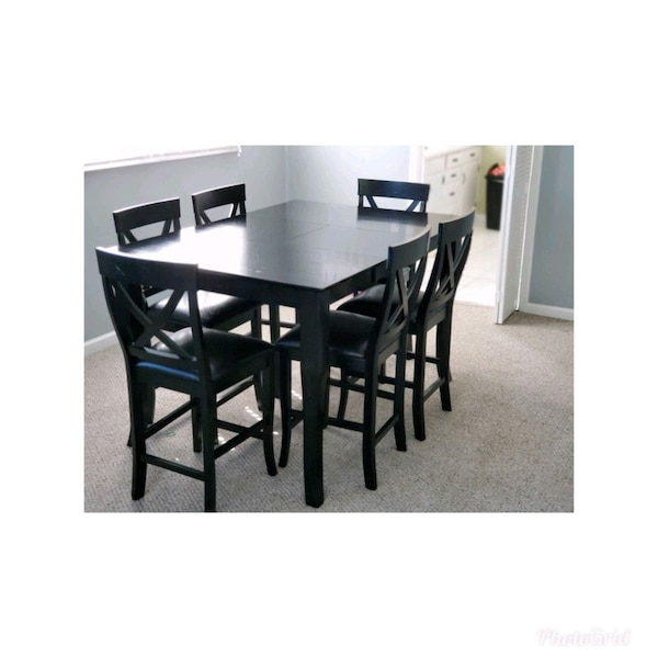 Ashley Furniture high top dining room table for 6