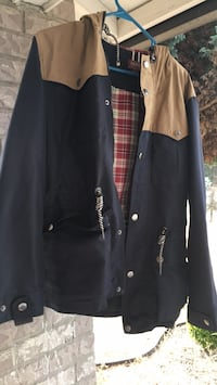 black and white button-up jacket Vancouver, 98682