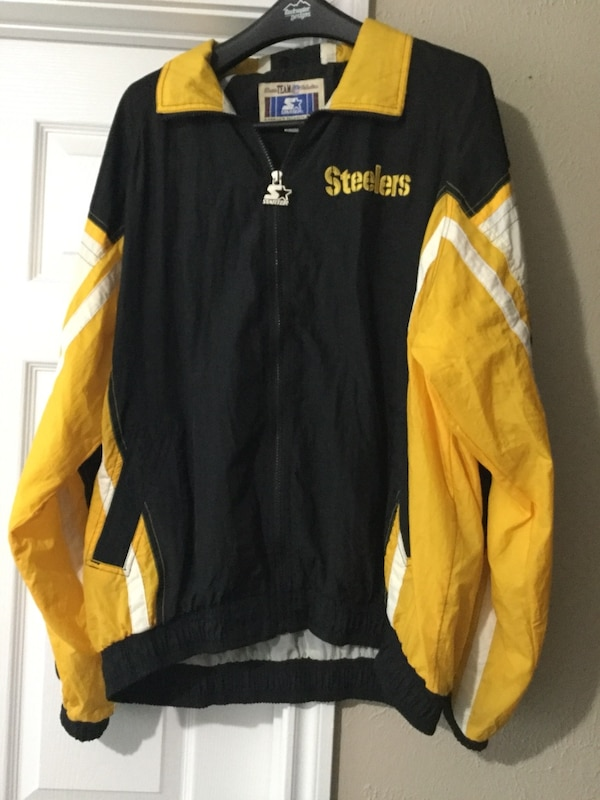 watch 7f65e d05b7 Vintage NFL Starter Pittsburgh Steelers Jacket