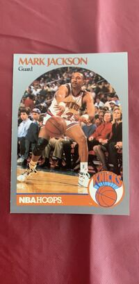 Mark Jackson / Menendez Brothers 1991 Hoops Basketball card Bristol, 37618