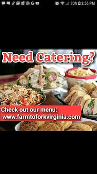 Event catering Richmond