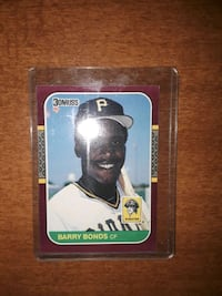 1987 Barry Bonds , GEM MINT !!!