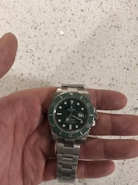 Rolex submariner watch hulk r_*E_^P Toronto, M8V 1A1