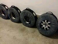 Winter Tires and Rims 195 55 16 OEM Mini Cooper