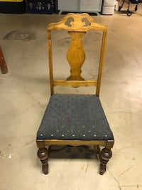 Antique refinished chair