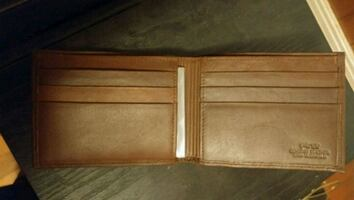 Brown Genuine Leather Wallet