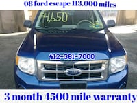 Ford - Escape - 2008 Pittsburgh, 15220