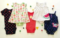 Baby clothing for girls 0-24 months