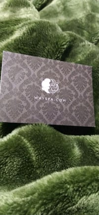 Way spa gift card