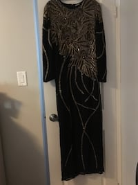Black and gold long gown  Waterloo, N2L 2K2