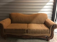 Vinatge Couch , Beautiful Wooden Detailing  Somerville, 02145