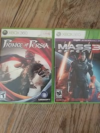 two assorted Xbox 360 game case