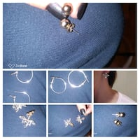 3 different style  earrings . London, N6H 1M9