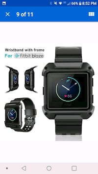 Replacement 2 in 1 watch band for fitbit blaze Tullahoma